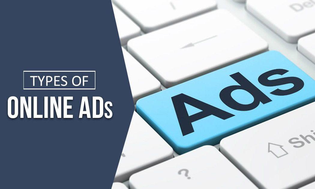 Types of Onlinde Ads