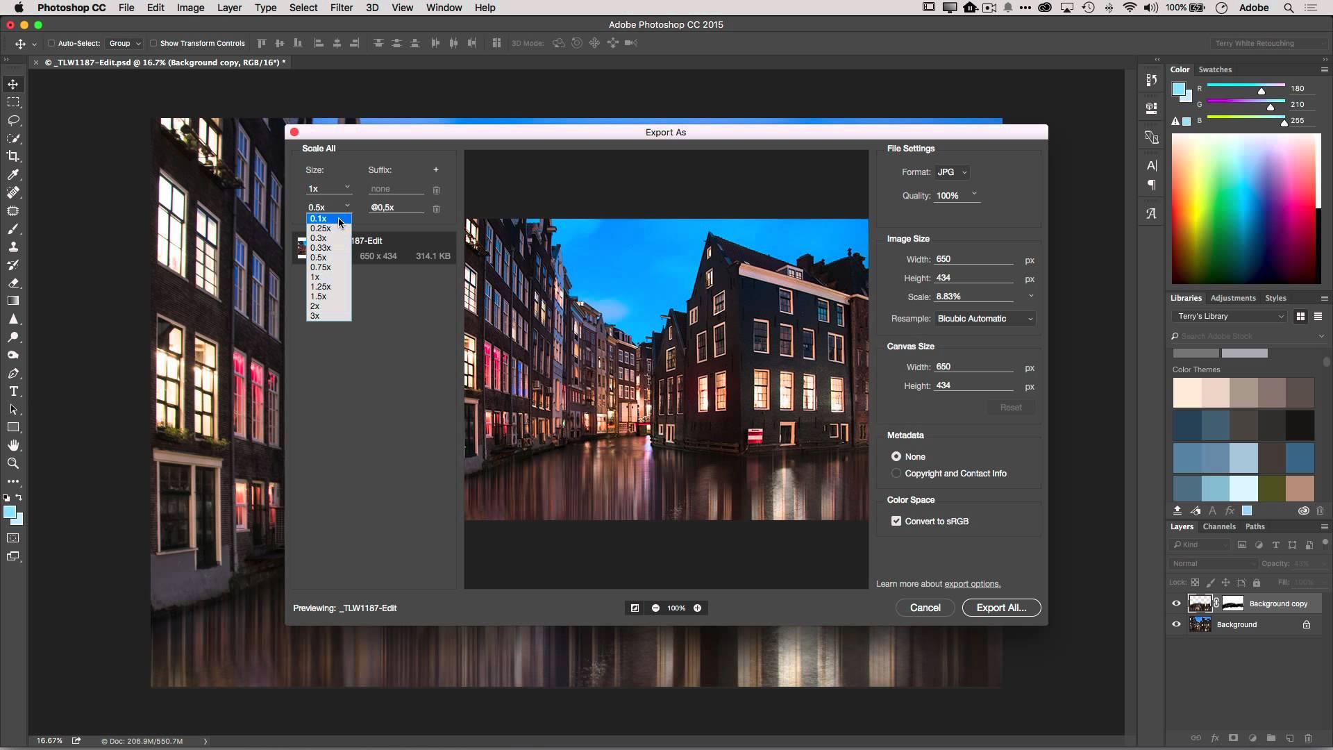 Оптимизация изображений на сайте